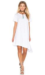 Трапециевидное платье с косым подолом - Wilt