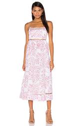 Макси платье roza ladder - Zimmermann