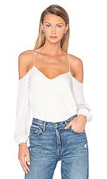 Блуза с длинным рукавом и вырезами на плечах - Haute Hippie