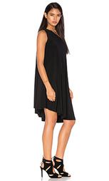 Платье-солнцеклёш на одно плечо - Norma Kamali