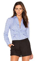 Рубашка с переплетом на пуговицах длинный рукав - DEREK LAM 10 CROSBY