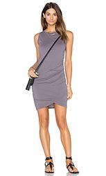 Облегающее платье из джерси с рюшами - Bobi