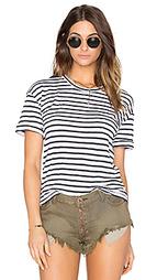 Утолщенная футболка из хлопка супима с нагрудным карманом - Stateside
