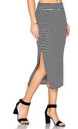 Полосатая юбка в рубчик - ATM Anthony Thomas Melillo