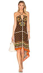 Платье с вышивкой - FARM