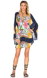 Платье в восточном стиле с шарфом - FARM