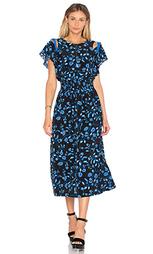 Миди платье с открытыми плечами - Rebecca Taylor