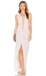 Макси платье со шнуровкой island - Indah