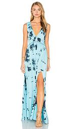 Макси платье с v-образным вырезом и открытой спиной - Gypsy 05