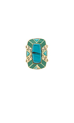 Коктейльное кольцо nile delta - House of Harlow 1960