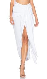 Драпированная миди юбка - Shona Joy
