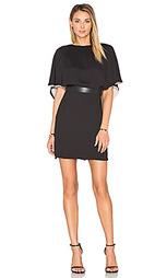 Платье-сарафан flowy sleeve colorblock - Halston Heritage