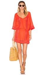 Платье в восточном стиле с вышивкой крошё - SOFIA by ViX