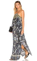 Ярусное платье на бретельках - Camilla