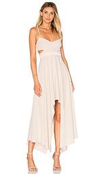 Платье с асимметричным подолом - Halston Heritage