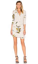 Платье-рубашка с длинным рукавом - Halston Heritage