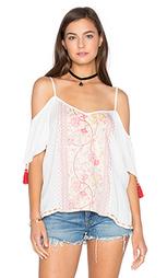 Блуза с открытыми плечами и длинным рукавом - Band of Gypsies
