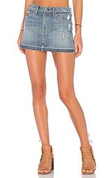Джинсовая мини юбка claudia - GRLFRND