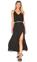 Миди платье с перекрестными шлейками сзади - krisa