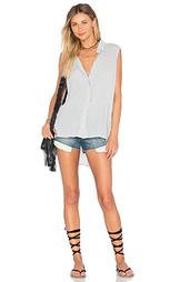 Рубашка без рукавов с кокеткой на спине - Bella Dahl