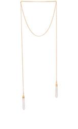 Ожерелье double crystal wrap - Jacquie Aiche