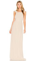 Макси платье без рукавов с квадратным вырезом - Hoss Intropia
