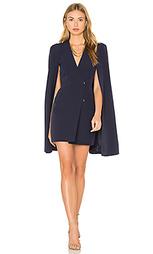 Платье с коротким рукавом и разрезом сзади - Lavish Alice
