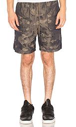 Дорожные шорты с накладными карманами - Helmut Lang