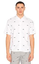 Рубашка с коротким рукавом diver - CLOT