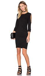 Платье с прорезями на плечах - Pam & Gela