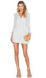 Мини платье с v-образным воротником и длинным рукавом - Hoss Intropia