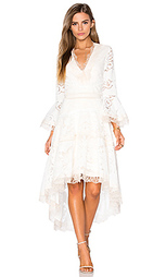 Платье с асимметричным подолом ash - Alexis
