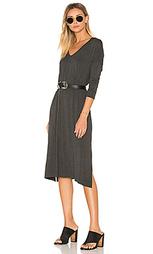 Макси платье long sleeve gwen - Clayton