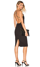 Миди платье с квадратным вырезом - Donna Mizani