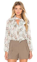 Блуза с длинным рукавом и завязкой на шее - IKKS Paris