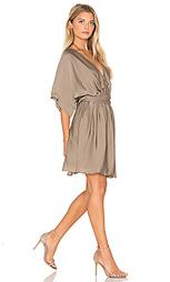 Мини платье с завязкой на талии короткий рукав - IKKS Paris