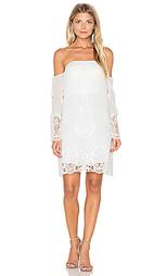 Платье с открытыми плечами secret garden - Lumier