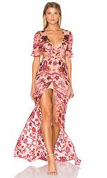 Макси платье saffron - For Love & Lemons