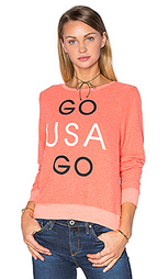 Футболка go team go - Wildfox Couture