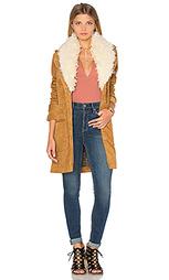 Куртка с меховым воротником lady lane - Free People