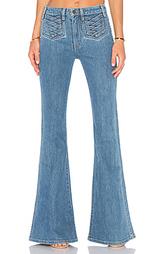 Расклешенные джинсы moss - MAJORELLE