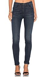 Облегающие джинсы с высокой посадкой channel - 3x1
