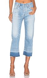 Укороченные джинсы с необработанным низом брючин cora - Citizens of Humanity