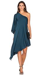 Платье с одним плечом tori - MILLY
