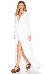 Вечернее платье с вышивкой и v-образным вырезом - Mara Hoffman
