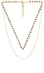 Ожерелье из нескольких цепочек clementine - Five and Two