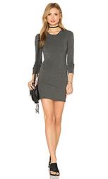Мини-платье с длинным рукавом - BLQ BASIQ