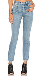 Узкие джинсы высокое посадки karolina - GRLFRND