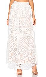 Кружевная юбка макси - Lucy Paris