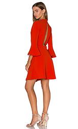 Платье с рукавами-колоколами - Lucy Paris